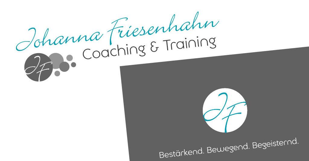 CI und Website – Business Coach Johanna Friesenhahn